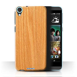 STUFF4 Phone Case/Cover for HTC Desire 820/Pine Design/Wood Grain Effect/Pattern Mobile phones