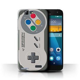 STUFF4 Phone Case/Cover for Huawei Ascend G7/Super Nintendo Design/Games Console Mobile phones