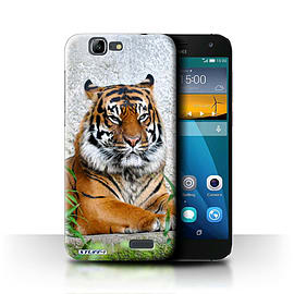 STUFF4 Phone Case/Cover for Huawei Ascend G7/Tiger Design/Wildlife Animals Mobile phones