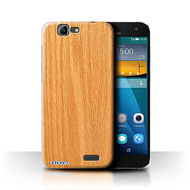STUFF4 Phone Case/Cover for Huawei Ascend G7/Pine Design/Wood Grain Effect/Pattern Mobile phones