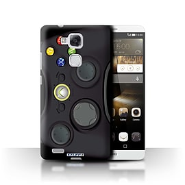 STUFF4 Phone Case/Cover for Huawei Ascend Mate7/Black Xbox 360 Design/Games Console Mobile phones