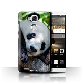 STUFF4 Phone Case/Cover for Huawei Ascend Mate7/Panda Bear Design/Wildlife Animals Mobile phones