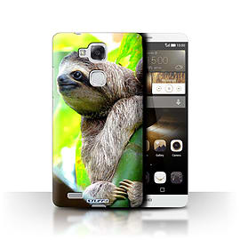STUFF4 Phone Case/Cover for Huawei Ascend Mate7/Sloth Design/Wildlife Animals Mobile phones