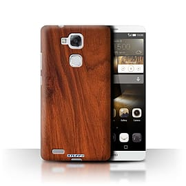 STUFF4 Phone Case/Cover for Huawei Ascend Mate7/Mahogany Design/Wood Grain Effect/Pattern Mobile phones