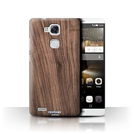 STUFF4 Phone Case/Cover for Huawei Ascend Mate7/Walnut Design/Wood Grain Effect/Pattern Mobile phones