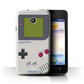 STUFF4 Phone Case/Cover for Huawei Ascend Y330/Nintendo Game Boy Design/Games Console Mobile phones