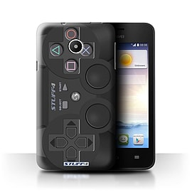STUFF4 Phone Case/Cover for Huawei Ascend Y330/Playstation PS3 Design/Games Console Mobile phones