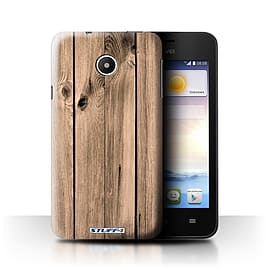 STUFF4 Phone Case/Cover for Huawei Ascend Y330/Plank Design/Wood Grain Effect/Pattern Mobile phones