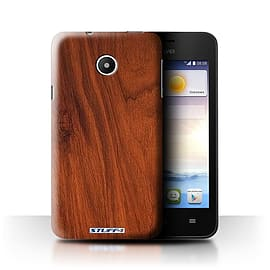 STUFF4 Phone Case/Cover for Huawei Ascend Y330/Mahogany Design/Wood Grain Effect/Pattern Mobile phones