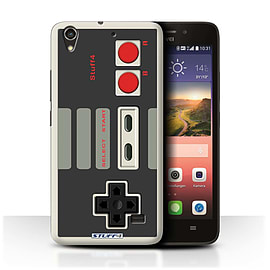 STUFF4 Phone Case/Cover for Huawei Ascend G620S/Nintendo Classic Design/Games Console Mobile phones