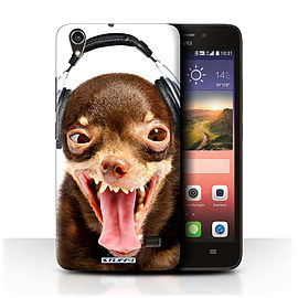 STUFF4 Phone Case/Cover for Huawei Ascend G620S/Ridiculous Dog Design/Funny Animals Mobile phones