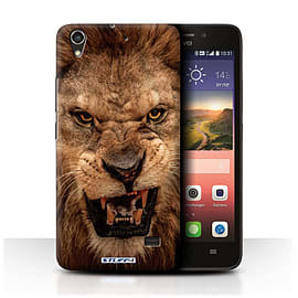 STUFF4 Phone Case/Cover for Huawei Ascend G620S/Lion Design/Wildlife Animals Mobile phones