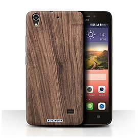 STUFF4 Phone Case/Cover for Huawei Ascend G620S/Walnut Design/Wood Grain Effect/Pattern Mobile phones