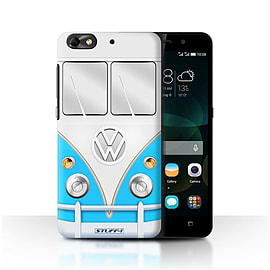 STUFF4 Phone Case/Cover for Huawei G Play Mini/Blue Design/VW Camper Van Mobile phones