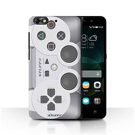 STUFF4 Phone Case/Cover for Huawei G Play Mini/Playstation PS1 Design/Games Console Mobile phones