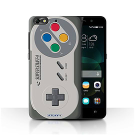 STUFF4 Phone Case/Cover for Huawei G Play Mini/Super Nintendo Design/Games Console Mobile phones