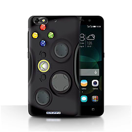 STUFF4 Phone Case/Cover for Huawei G Play Mini/Black Xbox 360 Design/Games Console Mobile phones