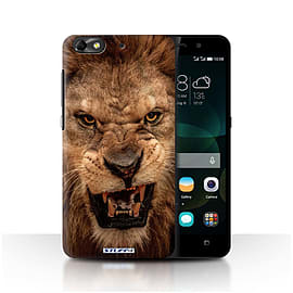 STUFF4 Phone Case/Cover for Huawei G Play Mini/Lion Design/Wildlife Animals Mobile phones