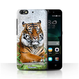 STUFF4 Phone Case/Cover for Huawei G Play Mini/Tiger Design/Wildlife Animals Mobile phones