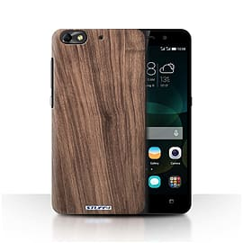STUFF4 Phone Case/Cover for Huawei G Play Mini/Walnut Design/Wood Grain Effect/Pattern Mobile phones