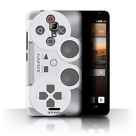 STUFF4 Phone Case/Cover for Huawei Ascend Mate2 4G/Playstation PS1 Design/Games Console Mobile phones
