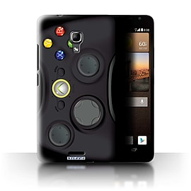 STUFF4 Phone Case/Cover for Huawei Ascend Mate2 4G/Black Xbox 360 Design/Games Console Mobile phones