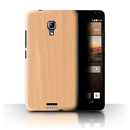 STUFF4 Phone Case/Cover for Huawei Ascend Mate2 4G/Beech Design/Wood Grain Effect/Pattern Mobile phones