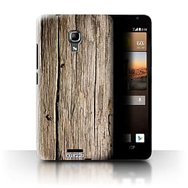 STUFF4 Phone Case/Cover for Huawei Ascend Mate2 4G/Driftwood Design/Wood Grain Effect/Pattern Mobile phones