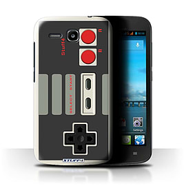 STUFF4 Phone Case/Cover for Huawei Ascend Y600/Nintendo Classic Design/Games Console Mobile phones