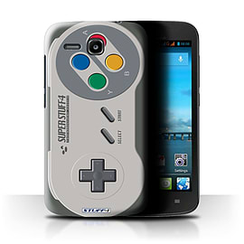 STUFF4 Phone Case/Cover for Huawei Ascend Y600/Super Nintendo Design/Games Console Mobile phones