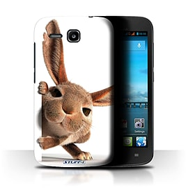 STUFF4 Phone Case/Cover for Huawei Ascend Y600/Peeking Bunny Design/Funny Animals Mobile phones