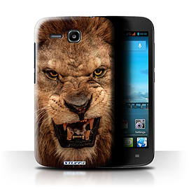 STUFF4 Phone Case/Cover for Huawei Ascend Y600/Lion Design/Wildlife Animals Mobile phones