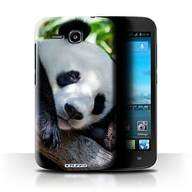 STUFF4 Phone Case/Cover for Huawei Ascend Y600/Panda Bear Design/Wildlife Animals Mobile phones