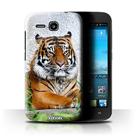 STUFF4 Phone Case/Cover for Huawei Ascend Y600/Tiger Design/Wildlife Animals Mobile phones