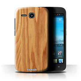 STUFF4 Phone Case/Cover for Huawei Ascend Y600/Oak Design/Wood Grain Effect/Pattern Mobile phones