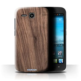 STUFF4 Phone Case/Cover for Huawei Ascend Y600/Walnut Design/Wood Grain Effect/Pattern Mobile phones