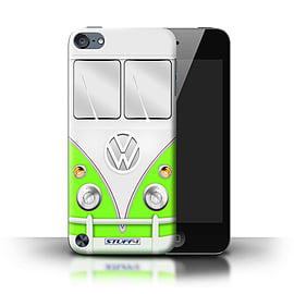 STUFF4 Phone Case/Cover for Apple iPod Touch 5/Green Design/VW Camper Van Mobile phones