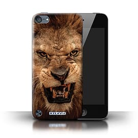 STUFF4 Phone Case/Cover for Apple iPod Touch 5 (5th Generation)/Lion Design/Wildlife Animals Mobile phones