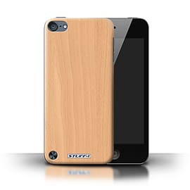 STUFF4 Phone Case/Cover for Apple iPod Touch 5 (5th Generation)/Beech Design/Wood Grain Effect Mobile phones