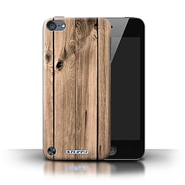 STUFF4 Phone Case/Cover for Apple iPod Touch 5 (5th Generation)/Plank Design/Wood Grain Effect Mobile phones