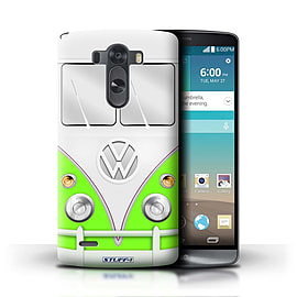 STUFF4 Phone Case/Cover for LG G3/D850/D855/Green Design/VW Camper Van Mobile phones