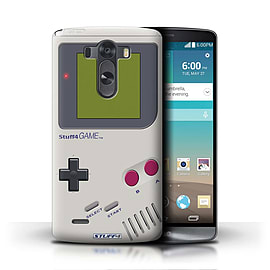 STUFF4 Phone Case/Cover for LG G3/D850/D855/Nintendo Game Boy Design/Games Console Mobile phones