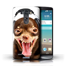 STUFF4 Phone Case/Cover for LG G3/D850/D855/Ridiculous Dog Design/Funny Animals Mobile phones