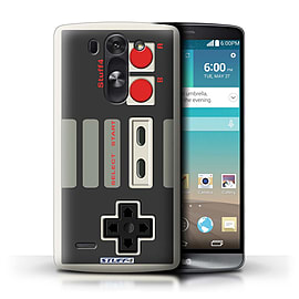 STUFF4 Phone Case/Cover for LG G3 S (Mini)/D722/Nintendo Classic Design/Games Console Mobile phones