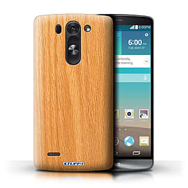 STUFF4 Phone Case/Cover for LG G3 S (Mini)/D722/Pine Design/Wood Grain Effect/Pattern Mobile phones