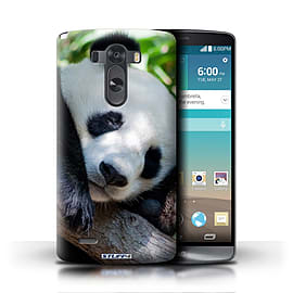 STUFF4 Phone Case/Cover for LG G3/D850/D855/Panda Bear Design/Wildlife Animals Mobile phones