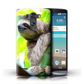 STUFF4 Phone Case/Cover for LG G3/D850/D855/Sloth Design/Wildlife Animals Mobile phones