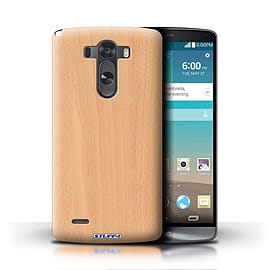 STUFF4 Phone Case/Cover for LG G3/D850/D855/Beech Design/Wood Grain Effect/Pattern Mobile phones