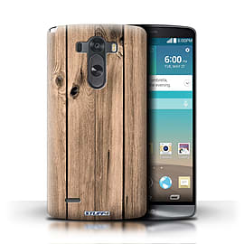 STUFF4 Phone Case/Cover for LG G3/D850/D855/Plank Design/Wood Grain Effect/Pattern Mobile phones