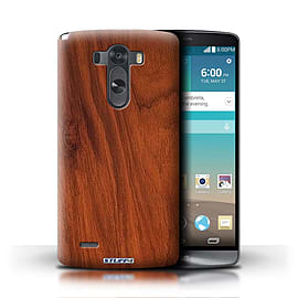 STUFF4 Phone Case/Cover for LG G3/D850/D855/Mahogany Design/Wood Grain Effect/Pattern Mobile phones